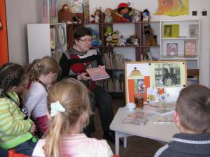Knižnica v Krompachoch a Bublinkové rozprávky :)
