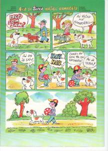 Ako si Ťapko našiel kamaráta Včielka č. 1, september 1998