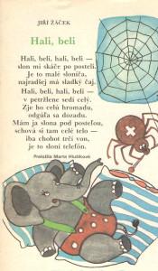 Jiří Žáček: Hali, beli Zornička č. 6, november 1990 Ilustrácia: Melita Hajdušková