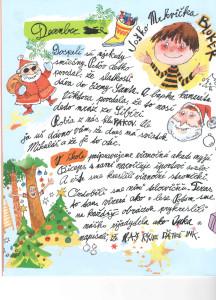 Slniečko č. 4, december 2013, str. 4 Ilustrácie: Juraj Martiška