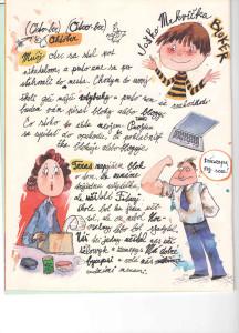 Slniečko č. 3, november 2013, str. 4. Ilustrácie: Juraj Martiška