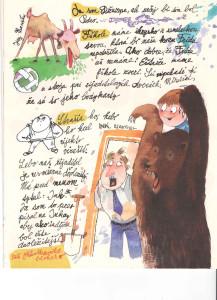 Slniečko č. 3, november 2013, str. 5. Ilustrácie: Juraj Matiška