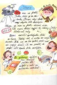 Slniečko č. 5, január 2014, str. 4. Ilustrácie: Juraj Martiška
