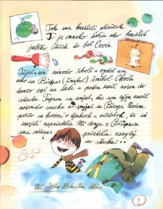 Slniečko č. 5, január 2014, str. 5. Ilustrácie: Juraj Martiška