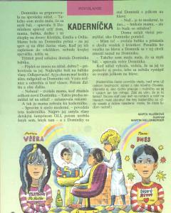 Kaderníčka Zornička č. 5, január 1997 Ilustrácia: Martin Kellenberger