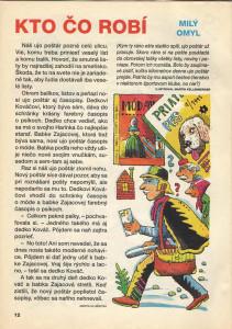 Milý omyl, Zornička č. 3, november 1995 Ilustrácia: Martin Kellenberger