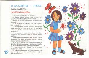 Najväčšia hviezdička Včielka č. 21-22, jún 1989 Ilustrácia: Eva Šicková