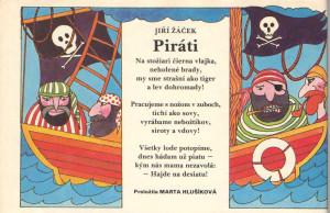 Jiří Žáček: Piráti Zornička č. 15, apríl 1992 Ilustrácia: Johana Ambrušová
