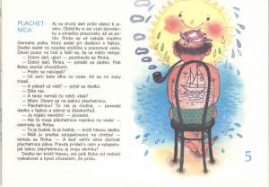 Plachetnica Včielka 21-22, jún 1990 Ilustrácia: Oľga Bajusová