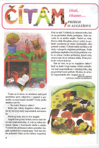 Príbeh o Augiášovi Zornička č. 8, apríl 1995 Ilustrácia: Tamara Kolenčíková