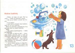 Rinkine bublinky Včielka č. 21-22, jún 1989 Ilustrácia: Eva Šicková