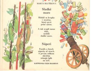 Sladké more Súperi Zornička č. 5 november 1990 Ilustrácia: Oľga Bajusová