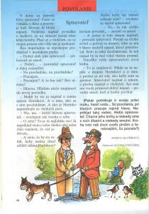 Spisovateľ Zornička č. 1, september 1996 Ilustrácia: Alexej Vojtášek