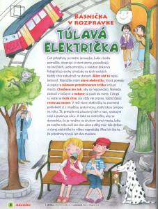 Túlavá električka Adamko č. 7-8, júl-august 2010 Ilustrácie: Alena Wagnerová