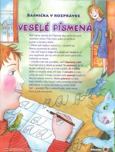 Veselé písmená Adamko č. 2, február 2010 Ilustrácie: Alena Wagnerová