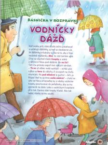 Vodnícky dážď Adamko č. 4, apríl 2010 Ilustrácie: Alena Wagnerová
