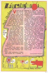 Zázračný nos Mamatatajojo č. 8, apríl 1999 Ilustrácia: Martina Matlovičová