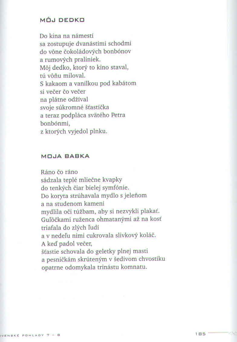 b7a55912ebf Poézia | Marta Hlušíková