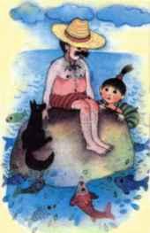 Strašný pes Včielka 21-22, jún 1990 Ilustrácia: Oľga Bajusová
