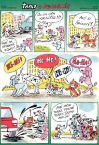 Ťapko a posmešníci Včielka č. 3, november 1998