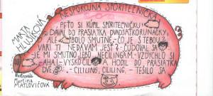 Nespokojná sporiteľnička Mamatatajojo č. 5, august 1998 Ilustrácia: Martina Matlovičová