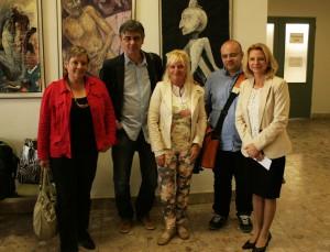 Porota s Borisom Farkašom a pani riaditeľkou Bergerovou