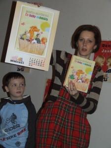 Moja knižka Čo baby nedokážu a kalendár na rok 2013