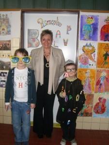 Na ZŠ Májové námestie ma vítal AZ Prvý a najmladší spisovateľ na škole