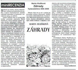 Slovenské národné noviny z 3. 7. 2007, 13/2007