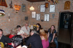 V družnej debate s brnenskými básnikmi