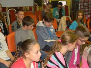 Deti boli na besedu pripravené, za čo patrí vďaka ich pani učiteľkám :)