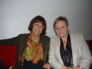 S Dankou Zacharovou, mojou obľúbenou roháčovskou karikaturistkou