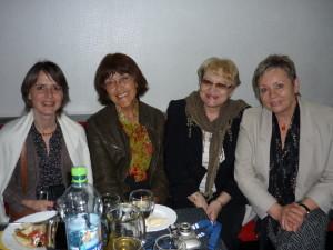 Na slávnostnom stretnutí autorov s Ľubkou Suballyovou, Dankou Zacharovou a Ruženkou Anďalovou