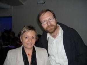 S Mariánom Kellenbergerom, ilustrátorom mojej knižky pre deti Písmenkovo alebo Tam, kde pršia výkričníky