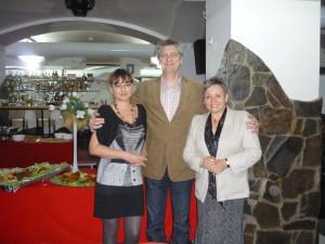 S Katkou Mikolášovou pod ochrannými krídlami Romana Brata