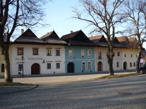 Malebné domy  v Spišskej Sobote