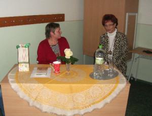 S Marcelkou Bundovou, šikovnou profesorkou slovenského jazyka