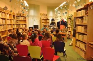 Na besede s deťmi v Knižnici na Tajovského 9