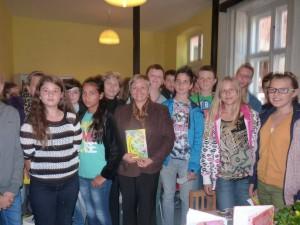 Spoločná fotka s budúcimi spisovateľmi