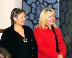 S pani Mgr. Ingrid Šulkovou, riaditeľkou Domu Matice slovenskej v Rimavskej Sobote