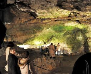 V jaskyni pod Bojnickým zámkom