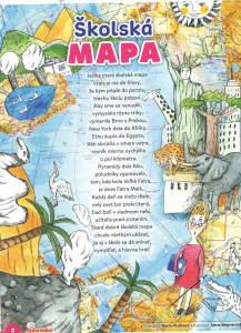 Školská mapa, Adamko č. 1, september 2015; ilustrácie: Alena Wagnerová