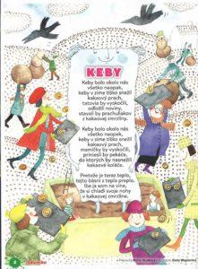 Keby, Adamko júl-august 2016, str. 2; ilustrácie Alena Wagnerová