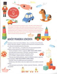 Slniečko, november 2016, str. 20. Ilustrovala Katarína Gasko