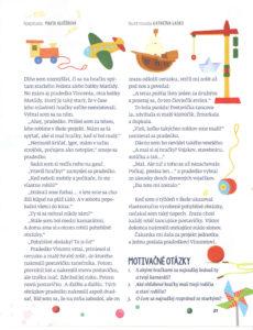 Slniečko, november 2016, str. 21. Ilustrovala Katarína Gasko