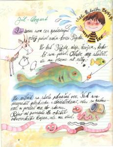 Slniečko č. 10, máj 2014, str. 8. Ilustrácie: Juraj Martiška