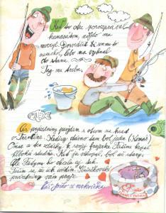 Slniečko č. 10, máj 2014, str. 9. Ilustrácie: Juraj Martiška