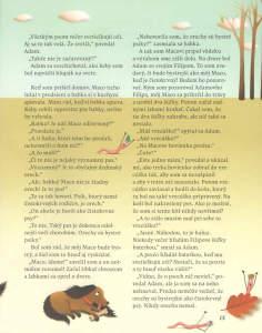 Slniečko, január 2014, str. 15. Ilustrovala Katarína Gasko