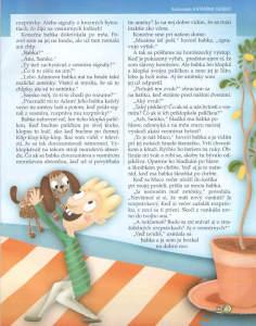 Slniečko, apríl 2013, str. 19. Ilustrovala Katarína Gasko