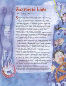 Slniečko, jún 2012, str. 14. Ilustrovala Kristína Šimková